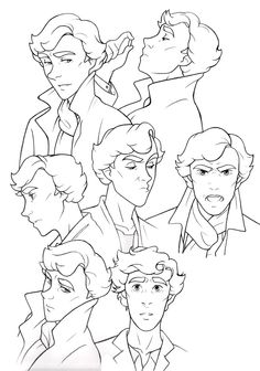If Sherlock was a cartoon