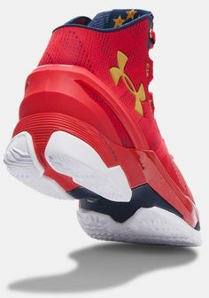 red curry two sneakers under armour