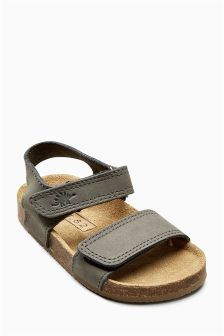 Smart Leather Corkbed Sandals (Younger Boys) (965262) | £14 - £15