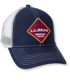 #LLBean: Bean's Fishing Trucker Hat