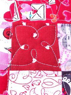 A friend's Valentine Quilt