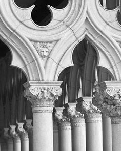 Venetian stone-work