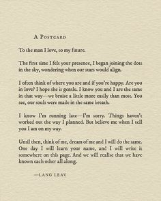 New piece ❤️ #quotes #poetry #soulmate #love #langleav #books #wedding