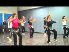 "DEC Zumba ""Livin La Vida Loca"" by Ricky Martin - YouTube"