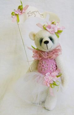 sweet miniature bear...♥