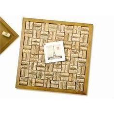Wine Bottle Cork: Cork Board Bulletin, Coaster, Trivet Kits, Wreath, Cage and Other Craft Ideas