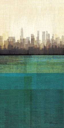 City Scape Reflection  amori-metropolitan-jewel-box-emerald