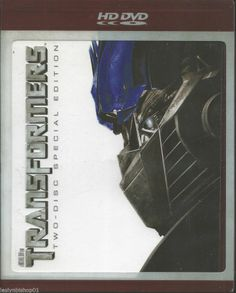 Transformers (HD DVD, 2007, 2-Disc Set, Special Edition) Director: Michael Bay
