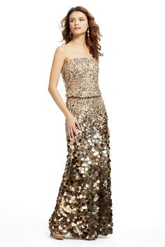 Aurora Sequin Paillette Maxi Dress | Calypso St. Barth