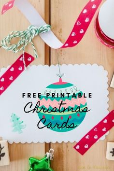 Sending holiday cards to friends and family is often forgotten about but they're so much fun! These printable Christmas cards are a fun and festive way to show you care and wish everyone a happy holiday. Plus, guess what? They're free and so many to choose from. Happy Holidays!