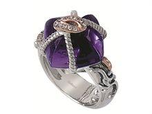 Bellarri Madam B Bon Bon Amethyst Ring