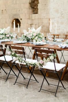 A modern and elegant wedding in Umbria Italy, at a medieval abbey. Modern Wedding Reception, Wedding Ties, Wedding Chairs, Elegant Wedding, Santorini Photographer, Umbria Italy, Wedding Decorations, Table Decorations, Italy Wedding