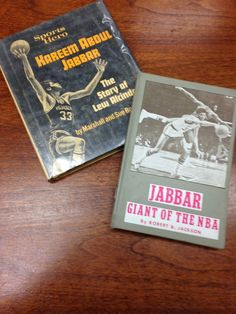 Back in 1976, this reader was a fan of Kareem Abdul-Jabbar.  The books were returned, anonymously, to the Capital District Library, Lansing, MI 40 years later