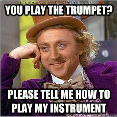 To my trumpet friend. We still love you ;) -violapower Imagine Dragons, Ohhh Yeah, Funny Stuff, It's Funny, Funny Humor, Memes Humor, That's Hilarious, Financial Accounting, Fundamental 5