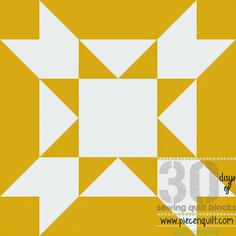 How to: Amish Star Squared Quilt Block- 30 Days of Sewing Quilt Blocks- Star Version!