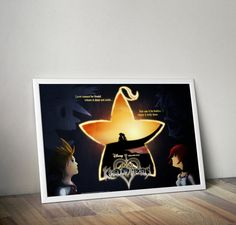 Kingdom Hearts Fated Together 36x24 by FPArtistry on Etsy