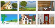 Background art on Behance