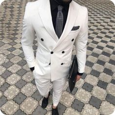 Custom Made White Mens Suits Latest Designs Ivory Groom Wedding Suits for Men Blazers Slim Fit Formal Male Business Suit Plus Size Men Suits for Wedding Wedding Suits for Men Groom Wedding Tuxedos Online with $135.93/Piece on Cadiat's Store | DHgate.com