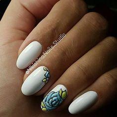 #ногти #маникюр#маникюрмосква #отрадное #дизайнногтей #битоестекло #френч…