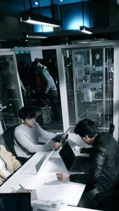 Kim Jaejoong filming Spy (150115)