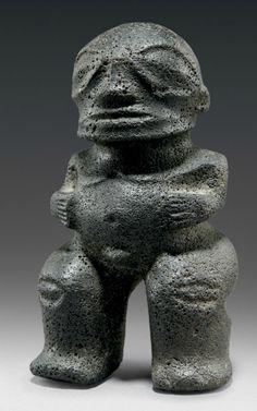 MARQUESAS ISLANDS STONE FIGURE Ancient Aliens, Ancient History, Tahiti, Polynesian Art, Art Premier, Statues, Ancient Mysteries, Marquise, Indigenous Art