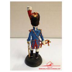 GRANADERO A CABALLO DE LA GUARDIA IMPERIAL. TROMPETA. FRANCIA 1810. ALMIRALL PALOU. GUERRAS NAPOLEONICAS.