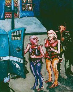 Travestis subiendo al carro policial - UMBERTO GIANGRANDI