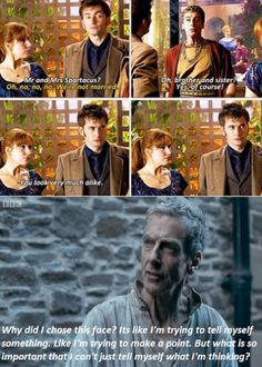 that face... #DoctorWho