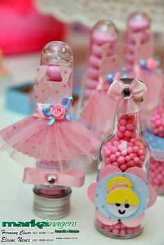 Pituquinha Festas: Festa Bailarina Rosa e Azul