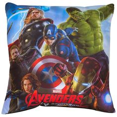 NEW OFFICIAL MARVEL AVENGERS AGE OF ULTRON CUSHION PILLOW Post Free