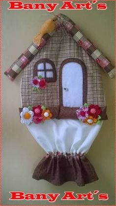 Sewing Crafts, Sewing Projects, Seed Bead Crafts, Peg Bag, Plastic Bag Holders, Towel Crafts, Sewing Aprons, Tea Art, Arts And Crafts