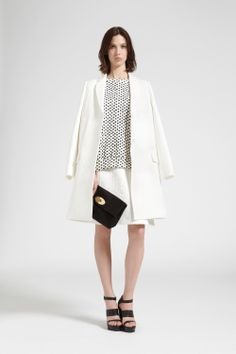 Discover the Mulberry Spring Summer 2014 collection on mulberry.com. Occasion Wear, Spring Summer Fashion, Dresses For Work, Style Inspiration, Blazer, Elegant, Summer 2014, Chic, Dress Ideas