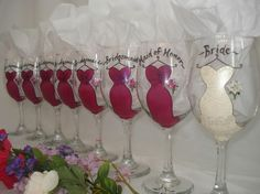 I want these for my bridal party!!!!!! Maybe something my Maid of Honor can do?