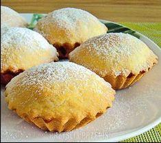 Babeczki szarlotki Cookie Desserts, No Bake Desserts, Cookie Recipes, Dessert Recipes, My Favorite Food, Favorite Recipes, Polish Recipes, Polish Food, Sweet Little Things