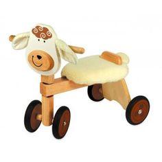 I M TOY - Vélo 4 roues en bois Mouton