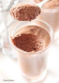 Mousse au chocolat de Christophe Felder : la recette facile