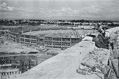 Vista del Estadio Olímpico desde la plaza de toros ad083de1f