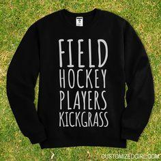 MESS Talk Field Hockey to Me Hoodie