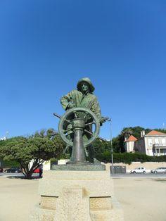 Estátua do Homem do Leme, Américo Gomes, 1934