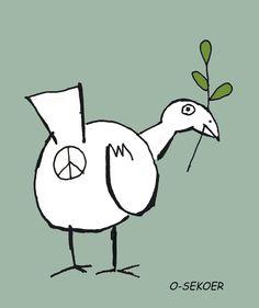 """Peace"" by o-sekoer #funny #cartoon"