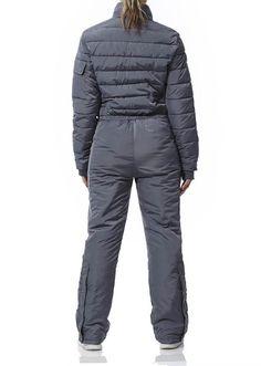 One Grey - voksen flyverdragt Ski Suit Mens, Snow Suit, Skiing, Leo, Overalls, Winter Jackets, Suits, Hoody, Coat