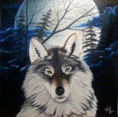 Les Oeuvres, Husky, Dogs, Animals, Oil On Canvas, Animales, Animaux, Pet Dogs, Doggies