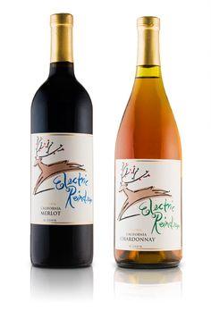 Cost Plus World Market Electric Reindeer wine packaging