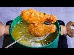 Az otthon készített csirke sokkal jobb mint a KFC!  Ízletes TV - YouTube Pollo Kfc, Spanish Cuisine, Beignets, Cauliflower, Beverages, Food And Drink, Vegetables, Cooking, Ethnic Recipes