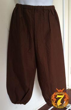 Brown Peasant Pants