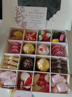This item is unavailable Chocolate Treats, Chocolate Box, Halal Sweets, Yummy Treats, Sweet Treats, Birthday Hampers, Ferrero Rocher Chocolates, Sweet Cones, Sweet Box