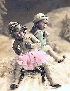 1912 kids sled