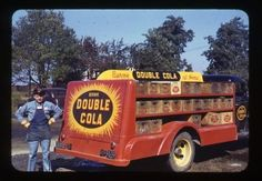 Double Cola truck driver in Evansville, Indiana. Evansville Indiana, Holiday World, Indiana State, Historical Society, Illinois, Kentucky, The Past, History, Ski