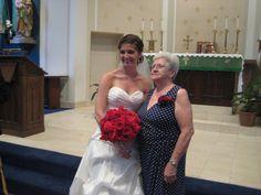 Eva and her grandmother. 7-5-14