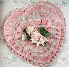 Pink Vintage Valentine Box by such pretty things, via Flickr
